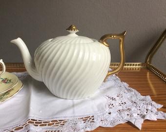 Elegant bone china teapot