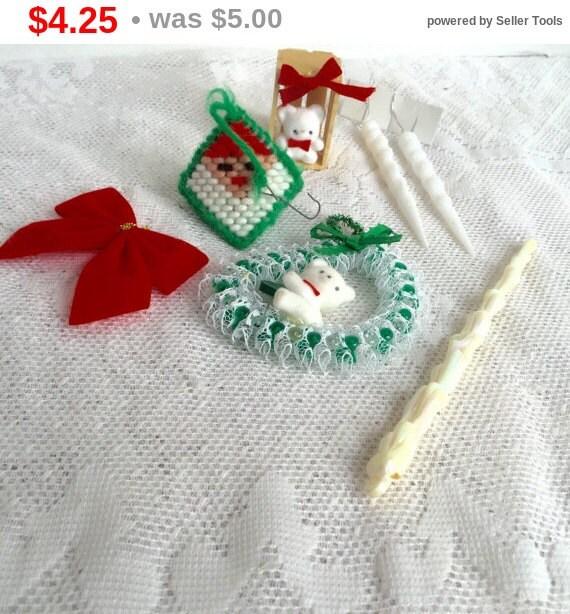 Sale On Christmas Tree Decorations: Christmas Sale Vintage Christmas Tree Ornaments / By