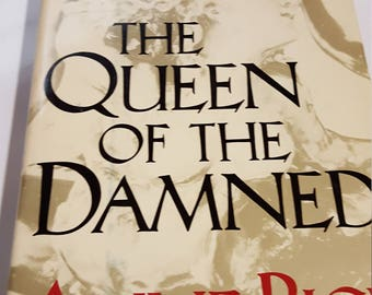 The Queen of the Damned,1988 Book Club Edition