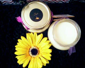 Flawless Oak Moss & Amber Body Butter made with all natural ingredients {Faith}