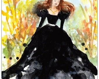 Madame Bovary postcard