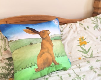 Hare Decorative Throw Cushion