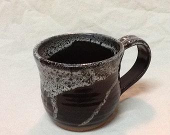 20% Off!  Stoneware Coffee Mug- Stone Penguin Pottery