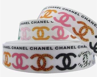 "1"" Chanel Grosgrain Ribbon"