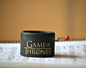 Games of Thrones Music Box. Hand cranked.