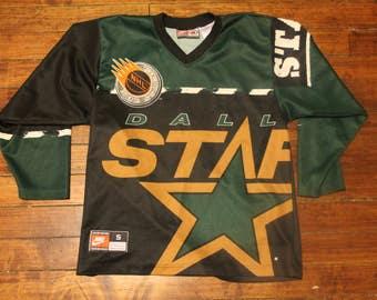 Dallas Stars jersey vtg NHL hockey nike jersey shirt small