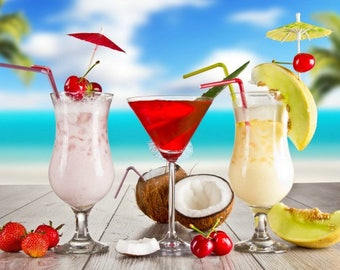 Fragrance Oils SUMMER Fragrances - NEW Handmade Original Blends - Exotic Scents - Tropical Fragrances - Flirty Summer Oils -  Buy 5 Get 1