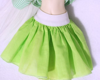 Batiste skirt for MiniFee (moe, A-line), Ellowyne Wilde, Tonner and other MSD 16 inches doll