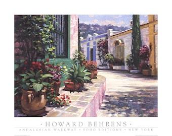 Howard Behrens-Andalusian Walkway-1995 Poster