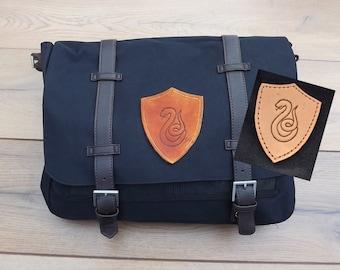 Slytherin Messenger bag Harry Potter satchel canvas