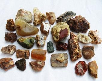 Agates Stones Odd Lot Oregon Rocks Mixed Rock Lot Curiosity Stones Instant Rock Collection