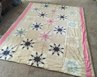 40s Primitive Star Quilt
