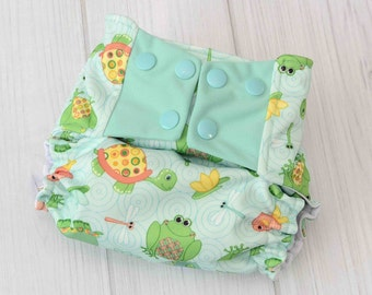 Best Baby Diapers - Pond Diaper - Cute Cloth Diapers - Cloth Diaper Covers - AI2 Cloth Diapers - 1173