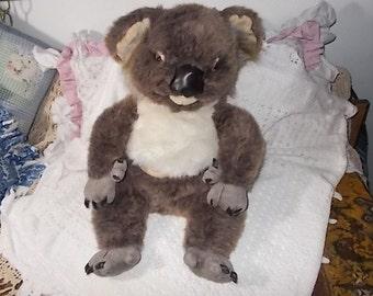 Koala Bear Stuffed, 1990 Discovery Channel, Stuffed Animal, Stuffed Toys, Vintage Stuffed Animals, Vintage Toys :)s*