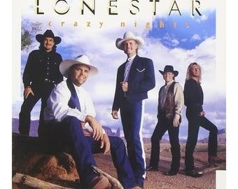 Used CD: Lonestar--Crazy Bights