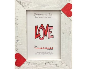 Valentine Frame/Photo Frame with Hearts/Gift of Love