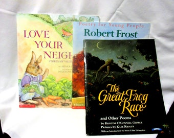 Three Wonderful Children's Soft cover Books