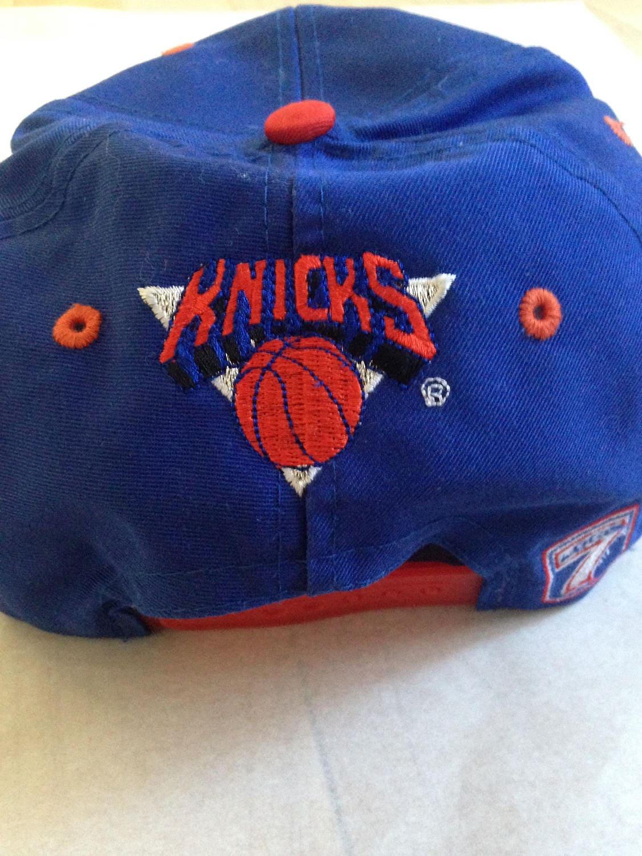 Vintage New York Knicks 90s NBA Snapback Hat  E102114044562003M ... 69a4fe79565d