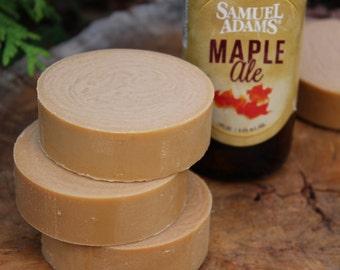 SUGAR MAPLE BEER Shave Soap | Mens Shaving Soap| Beer Soap | Groomsmen Gift | Shaving gifts for Men | Soap Gifts for him