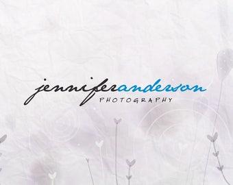 Photography Logo. Premade Logo Design. Text Logo. Photographer Branding. Custom Logo. Logo Template