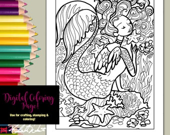 americana folk art coloring pages - photo#17