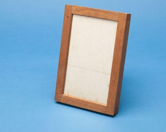 "Vintage Wood Printing Frame - EASTMAN KODAK - 3 1/4"" x 5 1/2"" Contact Frame - Great way to display photos"