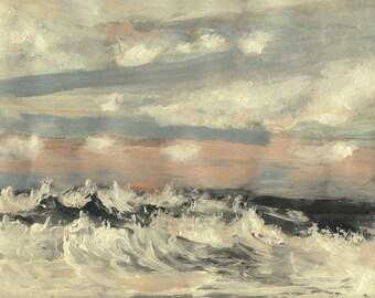 Pacific Fall Storm- Original Acrylic Painting