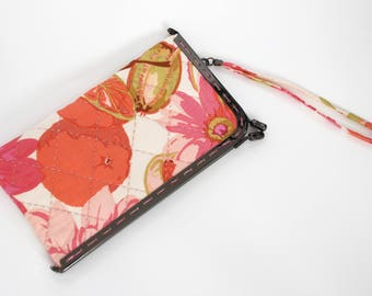 """7"""" kiss lock – Glasses Case or Cell Phone Case, Summer Fruits"""