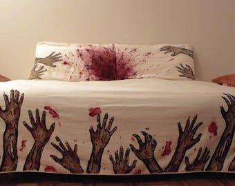 Never Sleep Alone Zombie bedding