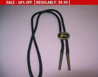 Vintage bolo tie, car bolo tie, bolo necklace, bolo choker, car necklace, car slide necklace