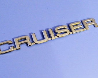 Vintage Toyota CRUISER Emblem