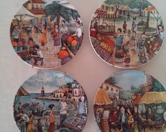 Burnelli Market Place Plates