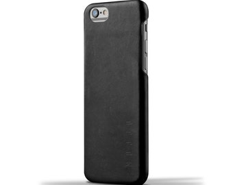 Mujjo Leather Case for iPhone 6(s) - Black