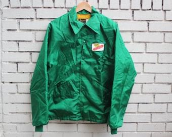 Vintage DEKALB Jacket Button Up vtg Swingster tag thin vtg long sleeve outdoor vtg gas station racer