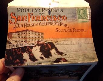 Vintage  Postcards San Francisco. Golden Gate Park .  SanFrancisco  California  Postcards.  Travel Postcards  California  1920s.  Souvenir