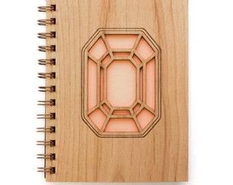 Gemstone Journal, Wooden Journal