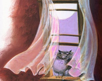"Phears/Cat from 'Have You Met My Ghoulfriend?"" jacket art"