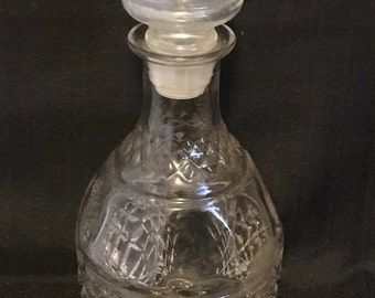 Decanter Glass Vintage Bar Item SALE