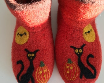 """Bootee """"Sienna"""" felt shoes, slippers"""