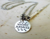 Harry Potter Wand Necklace - Made With Exclusive Custom Designed Round Charms