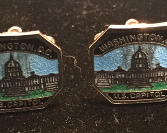 U.S. Capitol Cuff Links