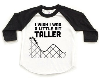 Rap tee. Hip Hop tee. Wish I Was a Little Bit TALLER kids tee. Trendy kids tee.