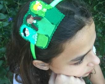Matryoshka / Babushka felt headband