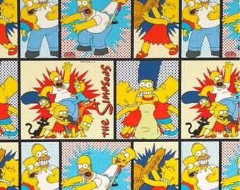 The Simpsons 1 Yard Cut