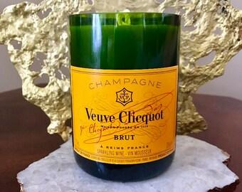 Veuve - Champagne Bottle Candle