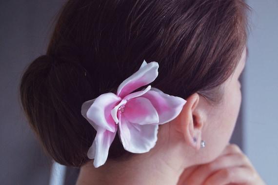 Magnolia Hair Flower