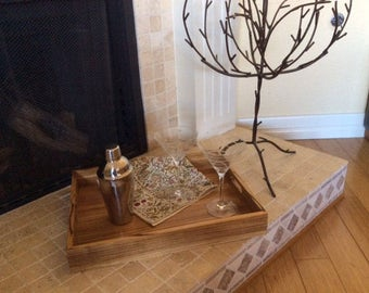 Zebrawood Serving Tray