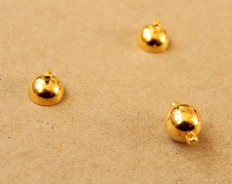 4 x Gold Magnetic Clasps, 16mm x 10mm - FI-360