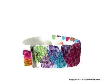 Emotional Balance H7 Bracelet for Stress, Anxiety, Insomnia, Palpitations, Nausea (one bracelet) Fiesta