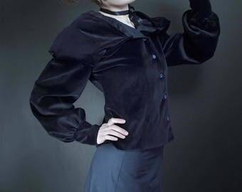 skirt black bobinette